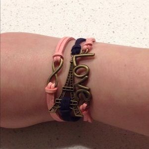 New multilayer bracelet Love Tower